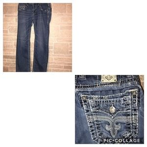 Other - Rock Revival Straight Leg Jeans size 32